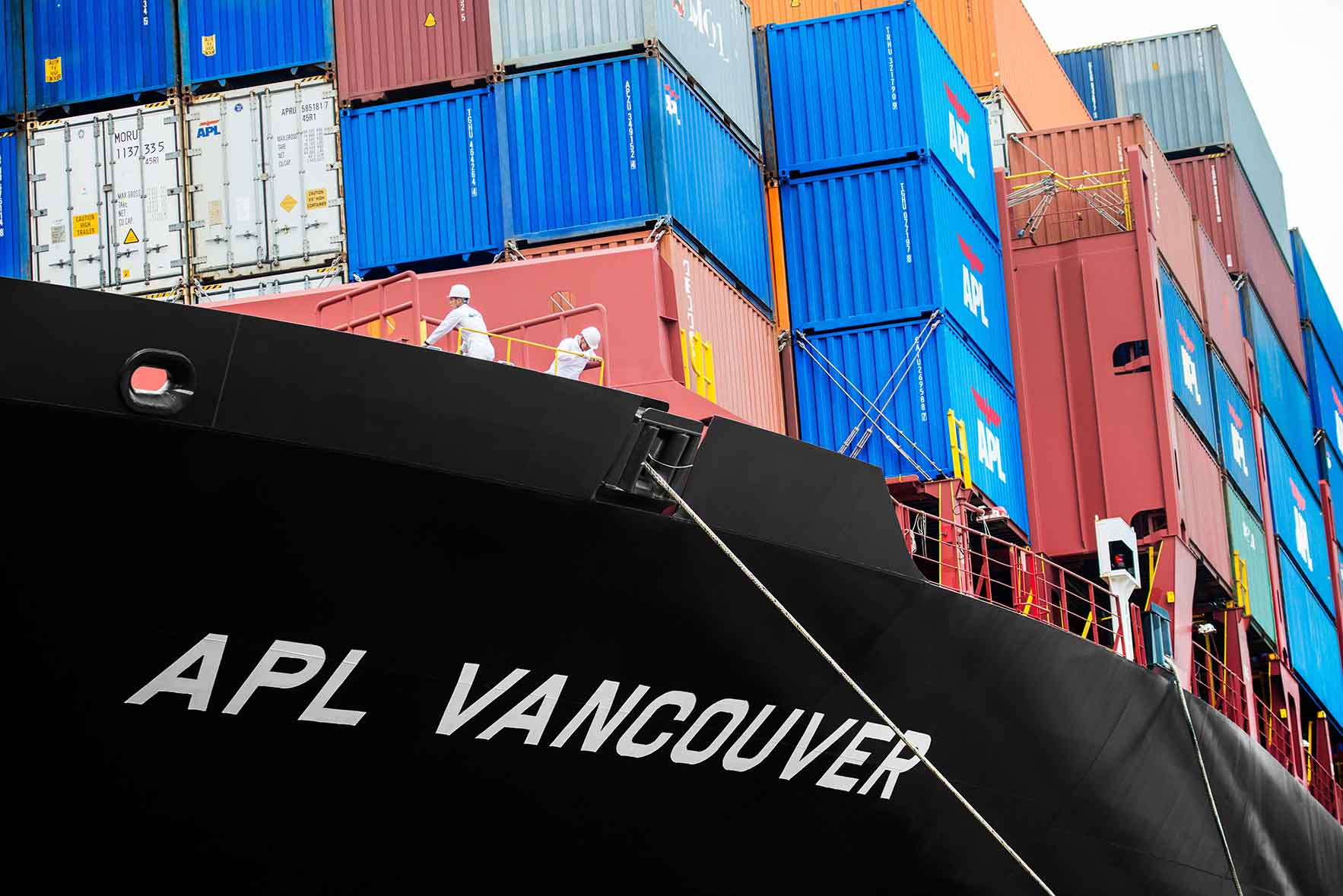 APL Seafarers – Preparing for Vessel Departure APL Vancouver (9,000 TEU)