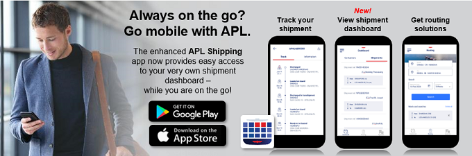 APL Shipping APP