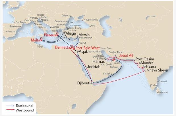 India Pakistan-Mediterranean Express (IPM)