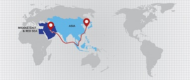 Asia-Middle East & Red Sea