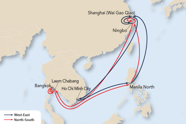 Map Of Asia North South East West.Apl 2019 Ca Services